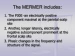 the mermer includes