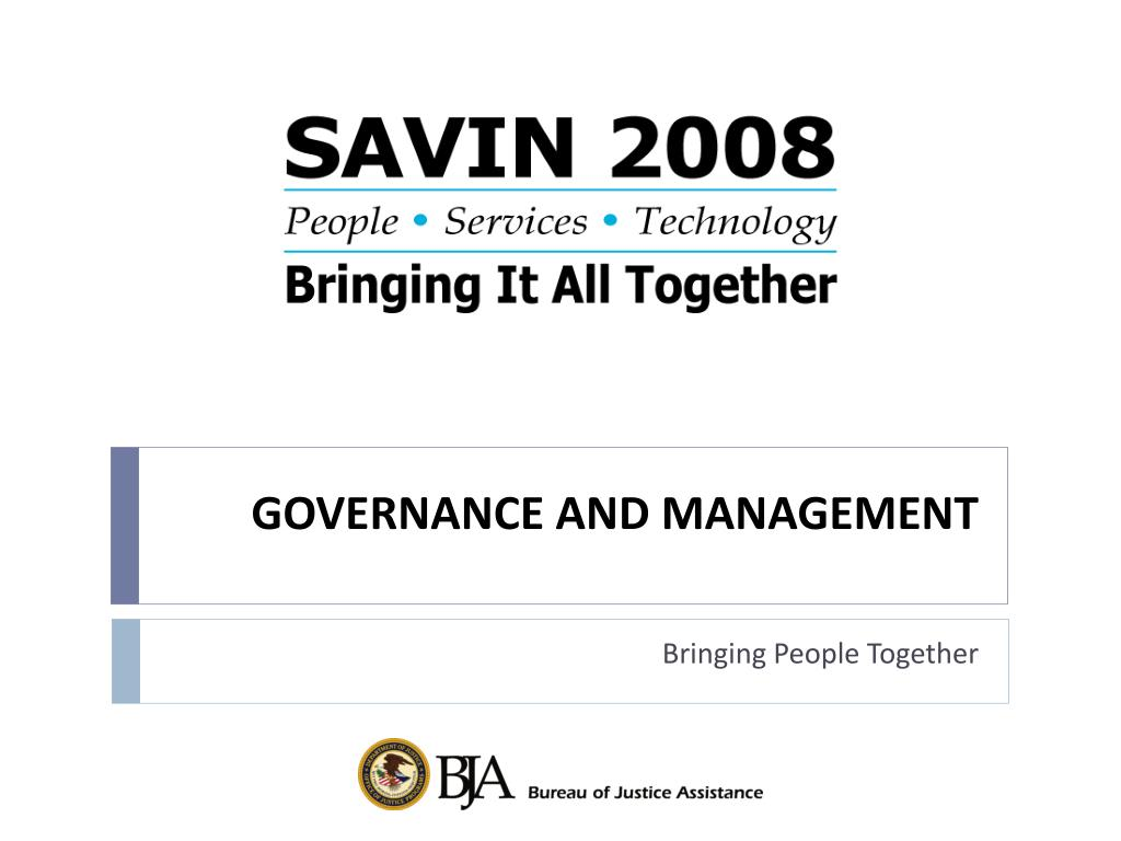governance and management l.