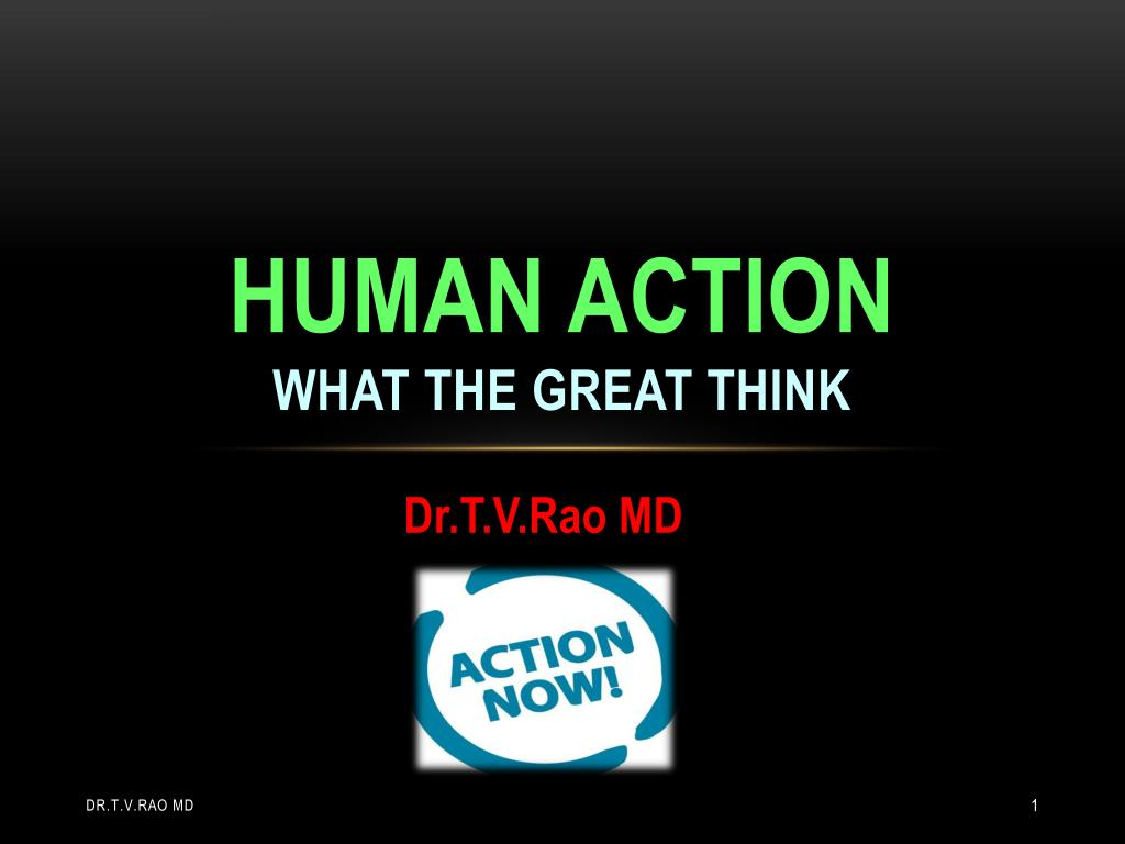 human action what the great think l.
