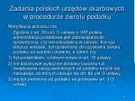 zadania polskich urz d w skarbowych w procedurze zwrotu podatku26