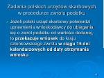 zadania polskich urz d w skarbowych w procedurze zwrotu podatku28