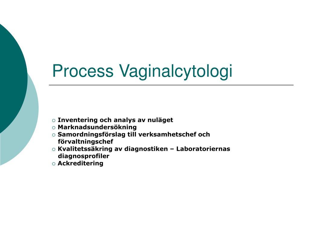 process vaginalcytologi l.
