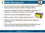 grant management33