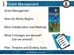grant management37