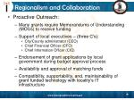 regionalism and collaboration19