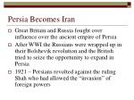persia becomes iran