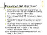 resistance and oppression8