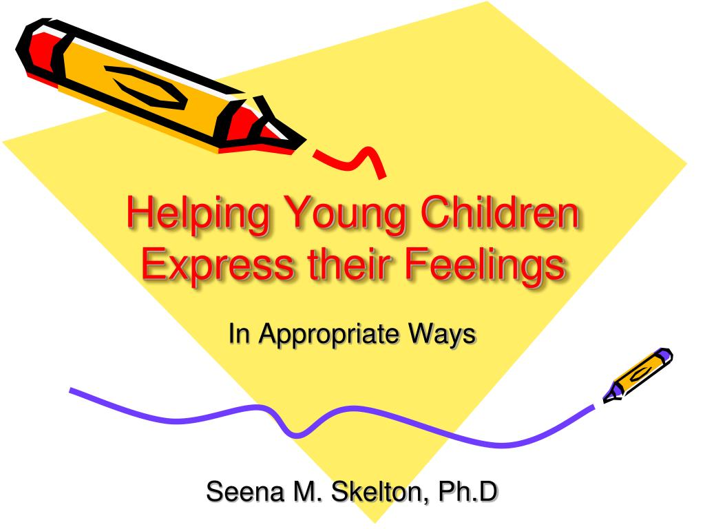 helping young children express their feelings l.