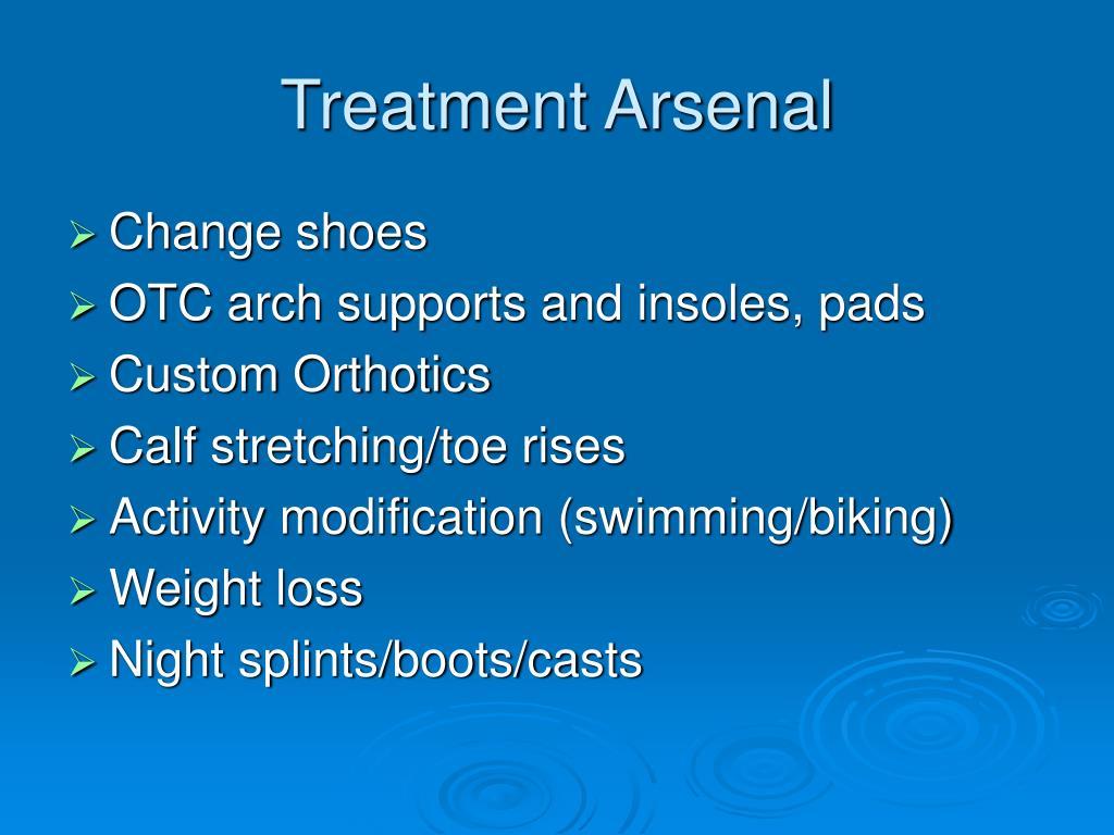 Treatment Arsenal