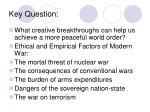 key question
