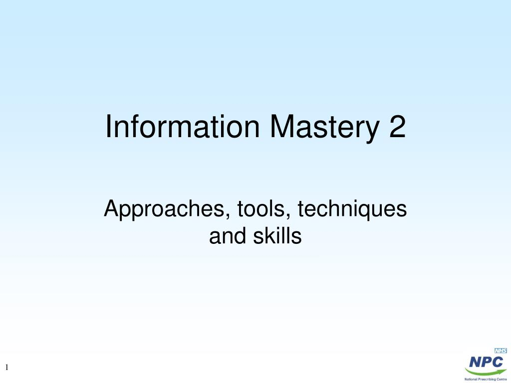 information mastery 2 l.