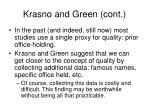 krasno and green cont