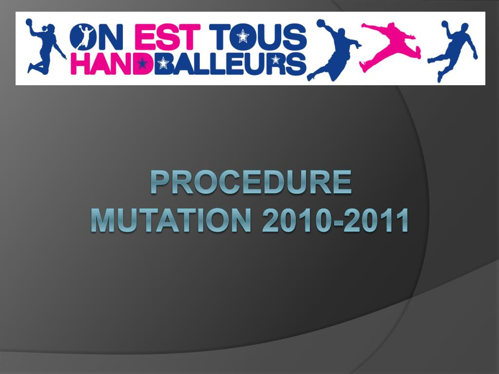 procedure mutation 2010 2011 l.