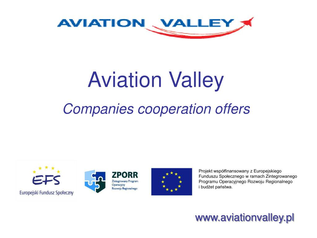 aviation valley companies cooperation offers l.