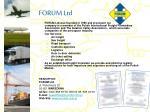 forum ltd