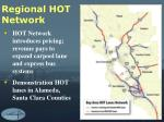 regional hot network