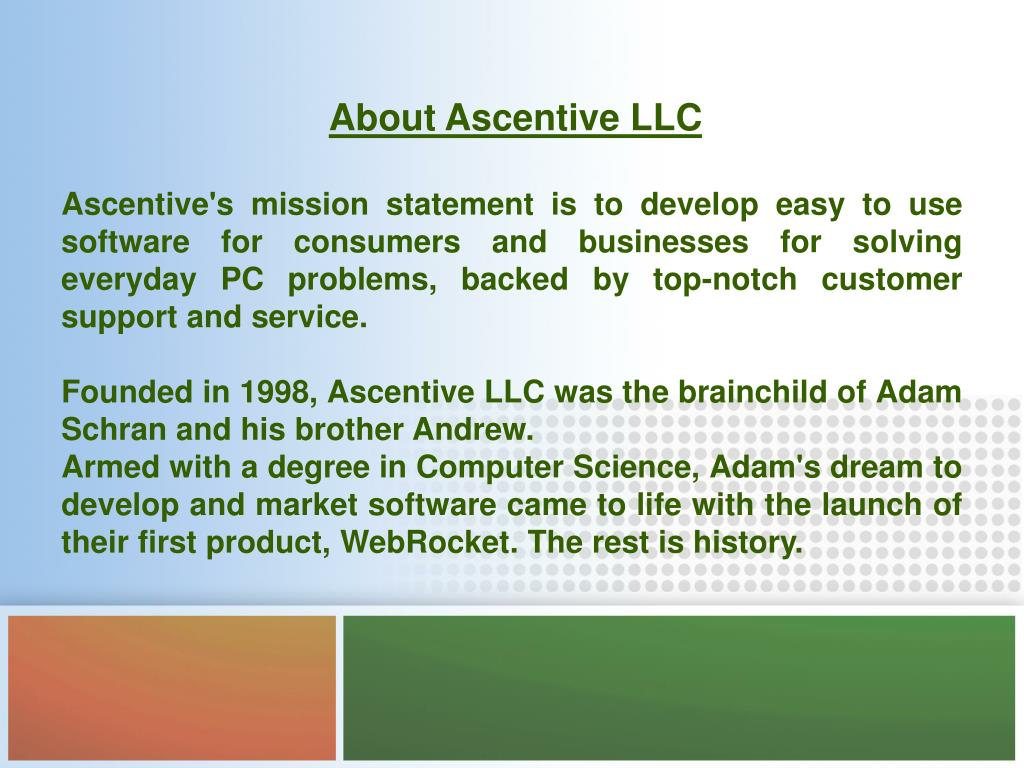 About Ascentive LLC
