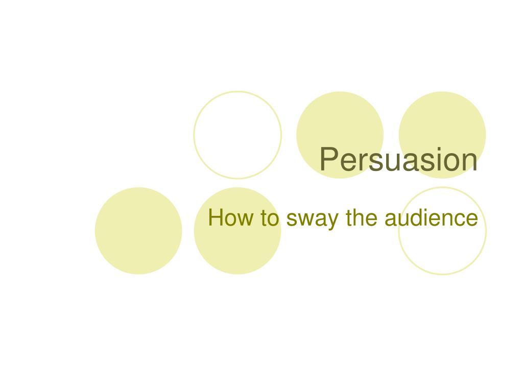 persuasion l.
