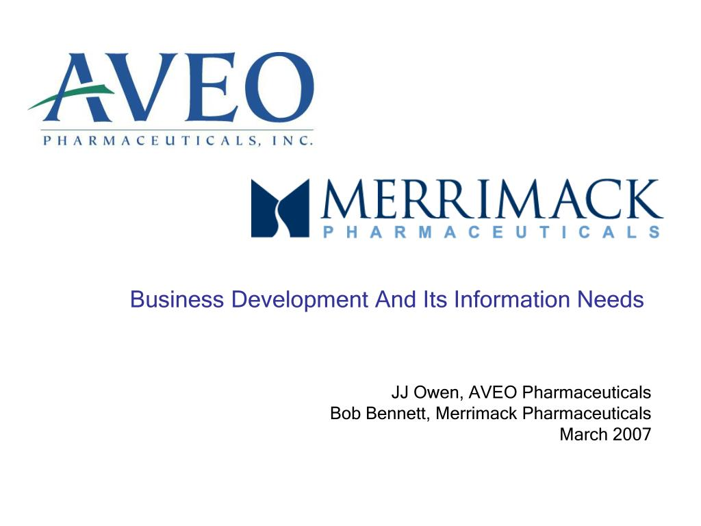 business development and its information needs l.