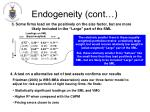 endogeneity cont26