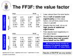the ff3f the value factor