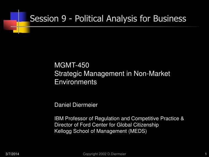 session 9 political analysis for business n.