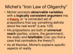 michel s iron law of oligarchy8