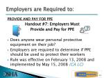 employers are required to1