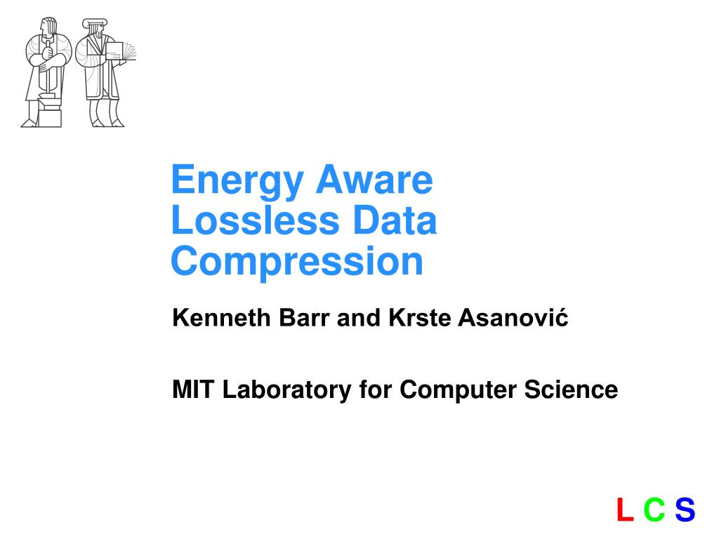 energy aware lossless data compression l.