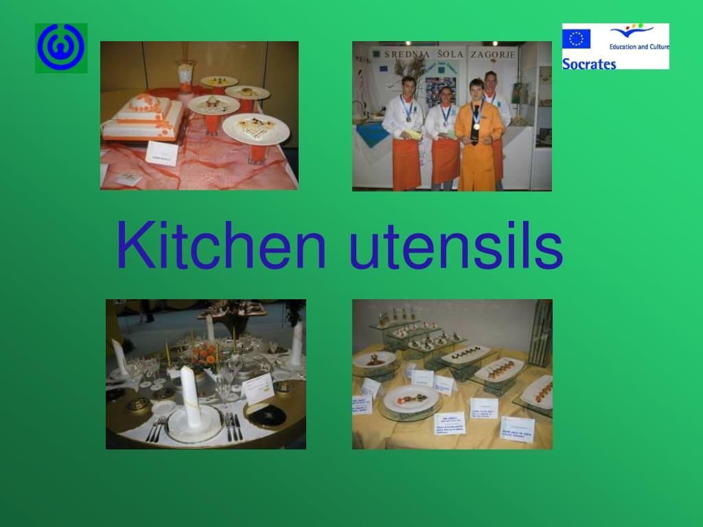 kitchen utensils l.