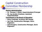 capital construction committee membership3
