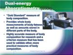 dual energy absorptiometry dxa