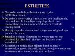 esthetiek