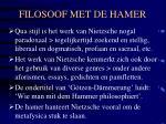 filosoof met de hamer