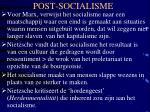post socialisme