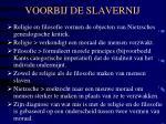 voorbij de slavernij