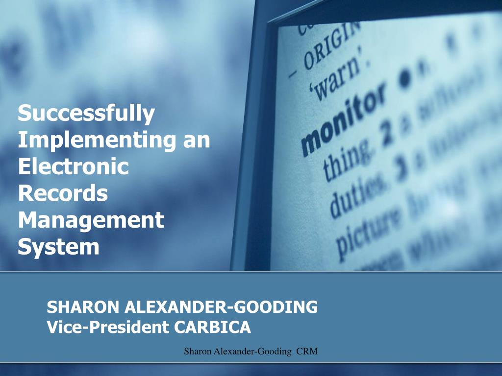 sharon alexander gooding vice president carbica l.