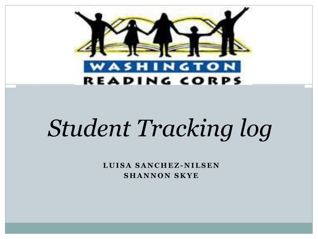 student tracking log l.