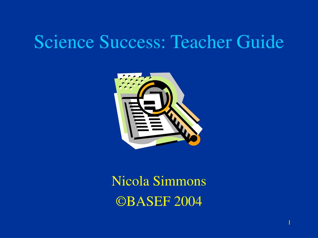 science success teacher guide l.