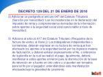 decreto 129 del 21 de enero de 201024
