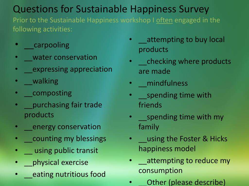PPT - Infusing Sustainable Happiness into Nursing for