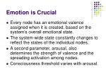emotion is crucial