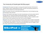 the university of strathclyde sscipod project