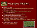 geography websites