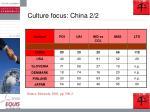 culture focus china 2 2