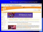 http www ipl org div kidspace projectguide