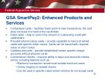 gsa smartpay 2 enhanced products and services
