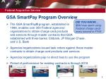 gsa smartpay program overview