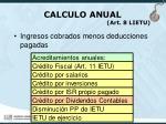 calculo anual art 8 lietu