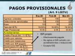 pagos provisionales art 9 lietu37